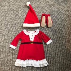 Hanna Andersson Christmas outfit